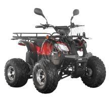 56155 Elektro čtyřkolka ATV s homologací 40 km/h. 1200W 72V/20Ah červená tažné zařízení