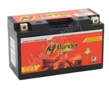 Motobaterie Banner BIKE BULL GEL 50601 GT7B-4 12V 6Ah 90A = YT7B-4