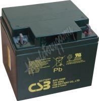 Záložní akumulátor CSB EVX12400I (12V 40Ah  400A)