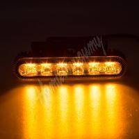 911-622 PROFI výstražné LED světlo vnější, oranžové, 12-24V, ECE R65