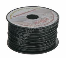 3100102 Kabel 1 mm, černý, 100 m bal