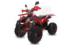 """Dětská čtyřtaktní čtyřkolka ATV Toronto Sport RS2 125ccm červená 3 rych. poloaut 8"""" kola"""
