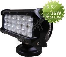 wl-cree36 LED světlo obdélníkové, 12x3W, 167x73x107mm