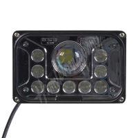 wl-cree42hl LED světlo obdélníkové, 13x LED (42W), 165x107x90mm