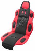 Potah sedadla RACE černo-červený