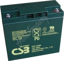 CSB BATTERY EVX12200 12V 20Ah