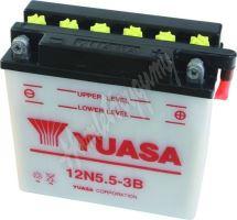 Motobaterie Yuasa 12N5.5-3B (12V, 5,5Ah, 60A)
