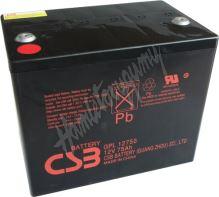 CSB Baterie GPL12750 12V 75Ah
