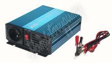 35psw412 Sinusový měnič napětí z 12/230V + USB, 400W