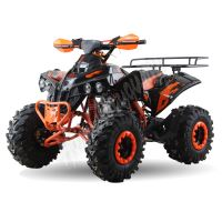 """Dětská čtyřtaktní čtyřkolka ATV Warrior MEGA oranžová 125ccm 3 rych. poloautomat 8""""kola"""