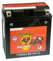 Motobaterie Banner BIKE BULL AGM 51821, YTX20L-BS, 12V 18Ah 210A