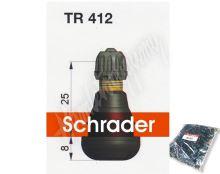TR 412 bezdušový ventilek Schrader MOTO 11,3 mm