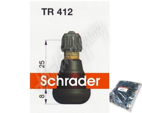 TR 412 bezdušový ventil Schrader 11,3 mm