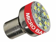 kf10LED/24V LED žárovka BA15S 24V se signalizací couvání Bi-Bi-Bi...