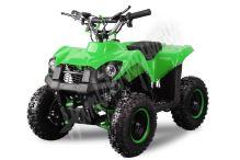 Dětská dvoutaktní čtyřkolka ATV Nitro Trucky 49ccm E-start zelená