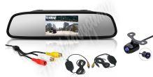 """cw2-Zset43 Bezdrátová parkovací kamera s LCD 4,3"""" monitorem na zrcátko"""