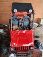 Dětská Buggy MiniRocket Zongshen 125ccm 3 rychlosti vpřed + zpátečka červená