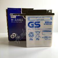 GS Motobaterie B38-6A 6V 18Ah