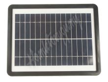 35950 Solární nabíječka 6W pro udržovací dobíjení baterií + dobíjení mobilních telefonů