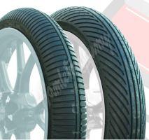 Dunlop 125/80 R17 M/C KR19 M/C1 (414) Wet 190/55 R17 M/C KR393 (057) Soft Wet Mokrý slick