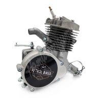 Samostatný motor pro motokolo 80ccm Stříbrná