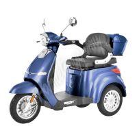 CITIS MAX - Elektroskútr modrý tříkolka 800W