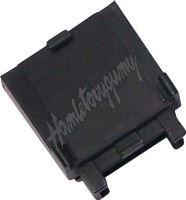 43011 pouzdro na plochou MIDI pojistku černé, 10 ks