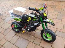 Minicross MiniRocket Minimotard 49cc, zelený