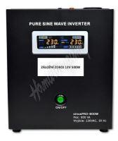 Záložní zdroj 12V 500W SinusPRO - 800W