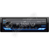 KD-X372BT JVC autorádio bez mechaniky/Bluetooth/USB/AUX/modrá barva podsvícení/odním.panel
