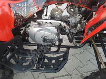 Dětská čtyřtaktní čtyřkolka ATV Street Hummer DELUX 125ccm červená 3 rych. poloaut. 8