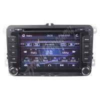 """80890 Autorádio pro VW, Škoda s 7"""" LCD, GPS, multicolor, ČESKÉ MENU"""