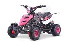 Dětská dvoutaktní čtyřkolka ATV Repti Nitro 49ccm růžová posledni sestavena