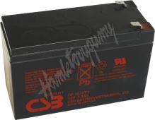 Záložní akumulátor CSB GP1272 F2 (12V 7,2Ah  130A)