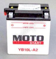 Motobaterie MOTOSTART YB10L-A2 12V 11Ah
