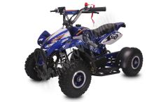 Dětská čtyřkolka Dragon II Sport 49ccm modrá