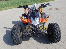 """Dětská čtyřtaktní čtyřkolka ATV BlackBear RS 125ccm černá 1 rych. poloautomat 8"""" kola"""
