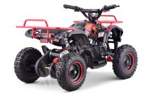Dětská elektro čtyřkolka ATV MiniHummer 1000W 36V Deluxe Lithium červená