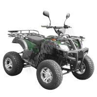 59399 Elektro čtyřkolka ATV s homologací 45 km/h. 2200W 72V/52Ah maskáč tažné zařízení