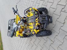 Dětská elektro čtyřkolka ATV Torino 800W 36V Maskáčová žlutá