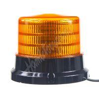 911-75m PROFI LED maják 12-24V 36x0,5W oranžový magnet ECE R65 167x132mm