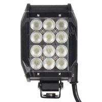 wl-cree36-2 LED světlo obdélníkové,12x3W, 99x93x167mm