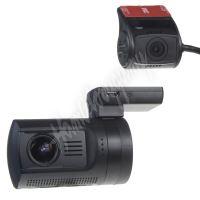 "dvrb24dual DUAL miniaturní FULL HD kamera, GPS + 1,5"" LCD, HDR, dálkové ovl, ČESKÉ MENU"