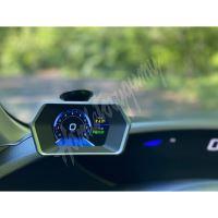 se165 Palubní DISPLEJ LCD, OBDII, GPS s přísavkou