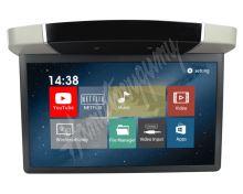 """ds-157Agrc Stropní LCD monitor 15,6"""" šedý s OS. Android HDMI / USB, dálkové ovládání se sn"""