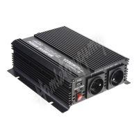 351224 Měnič napětí z 24/230V + USB, 1200W