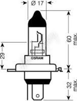 OS64196 OSRAM 24V H4 75/70W standard (1ks)