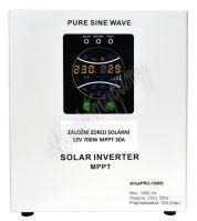 Záložní zdroj 700W/230V sinus Solár MPPT