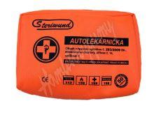 Autolékárnička Steriwund textilní dle vyhl. 341/2014 Sb. expirace 2019-06