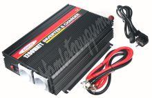 35909 x Autonabíječka 12V/10A + měnič 1200W 12/230V, UPS